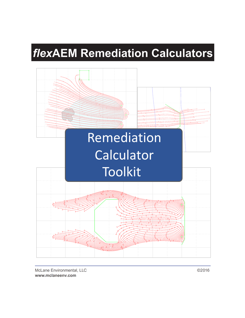 Remediation Calculator Toolkit 1 - Unconfined